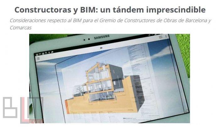 Constructoras y BIM: un tándem imprescindible